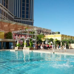 Photo taken at Palazzo Pool by Rob G. on 6/9/2013