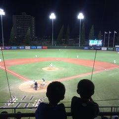 Photo taken at Les Murakami Stadium by Nathan K. on 5/17/2015