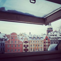 Photo taken at Doma Hostel in Riga by Piret S. on 12/7/2013