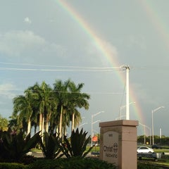 Photo taken at Christ Fellowship Royal Palm Campus by Jennifer B. on 10/1/2014