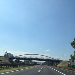 Photo taken at A22 - Mantova Sud by Paolo D. on 6/17/2014