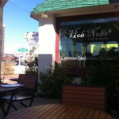 Photo taken at Hob Nobs Cafe & Spirits by Kate B. on 2/15/2013