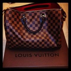 Photo taken at Louis Vuitton by Olesya D. on 3/31/2013