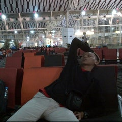 Photo taken at Gate 2 by Rhara D. on 5/3/2014