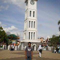 Photo taken at Jam Gadang by Miftah R. on 11/20/2013