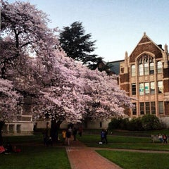 Photo taken at UW Quad by April S. on 4/1/2013