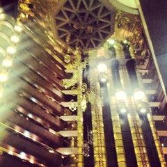 Photo taken at Sandton Sun Hotel by Kaysha on 10/28/2012