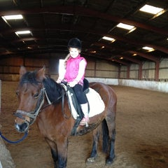 Photo taken at Dwyfor Ranch Riding School by Vee B. on 11/11/2012
