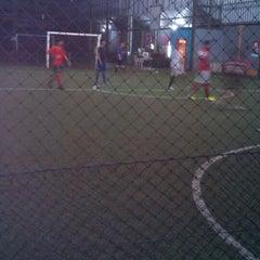 Photo taken at Galaxy Futsal Center by Masy'al M. on 11/24/2013