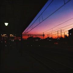 Photo taken at Stazione Asti by Carola F. on 1/2/2015