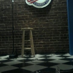 Photo taken at Goodnight's Comedy Club & Restaurant by Stacey R. on 2/3/2013