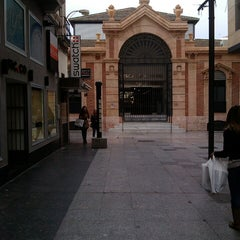 Photo taken at Mercado Central de Almería by Joseanmt on 3/25/2013
