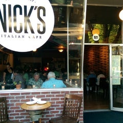 Photo taken at Nick's Italian Cafe by Jackson S. on 6/30/2014