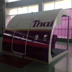 Photo taken at ศูนย์ลูกเรือ (Thai Airways Crew Center Laksi) by OFF C. on 9/8/2015