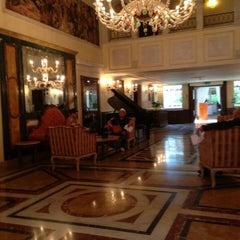 Photo taken at Ca' Sagredo Hotel Venice by Amer A. on 7/29/2015