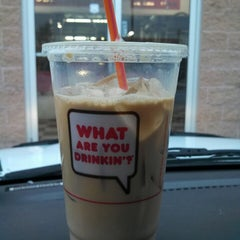 Photo taken at Dunkin Donuts by Patricia R. on 1/21/2014