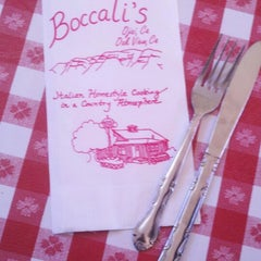 Photo taken at Boccali's Pizza & Pasta by Michelle C. on 12/26/2012