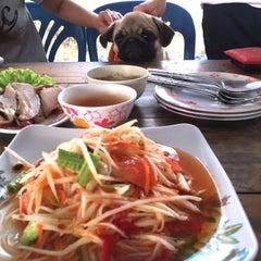 Photo taken at ร้านส้มตำภูไท by To3i :. on 5/26/2015