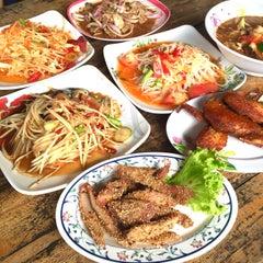 Photo taken at ร้านส้มตำภูไท by To3i :. on 6/18/2015