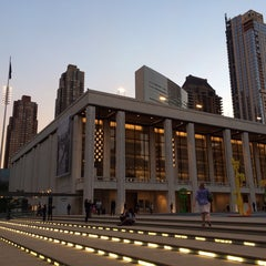 Photo taken at Lincoln Center for the Performing Arts by Denys T. on 10/8/2013