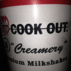 Photo taken at Cook-Out by Alexa C. on 12/12/2012