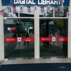 Photo taken at Siti Hasmah Digital Library by Puchong P. on 9/18/2015