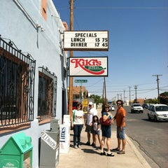 Photo taken at Kiki's Restaurant & Bar by LB R. on 9/1/2012