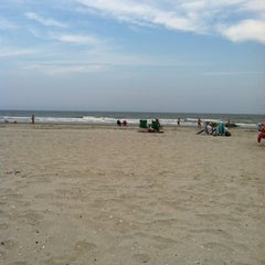 Photo taken at 44th street beach by Ed H. on 8/3/2012