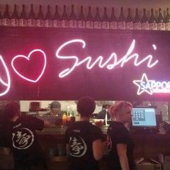 Photo taken at Sushi Deli 1 by Moises O. on 6/26/2012