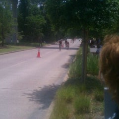 Photo taken at Ironman TX by Megan Noel R. on 5/19/2012