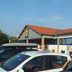 Photo taken at Lidl Peschiera d/G by Adam G. on 8/16/2012