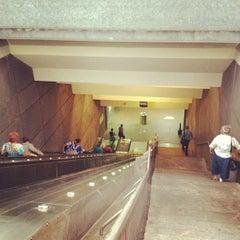 Photo taken at Charles Center Metro Station by Elliott P. on 7/31/2012