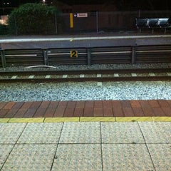Photo taken at City West Train Station by Brad S. on 6/22/2012