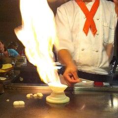 Photo taken at Fujiyama Steak House of Japan by Jason M. on 7/23/2012