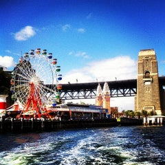 Photo taken at Luna Park by Aninha B. on 3/18/2012
