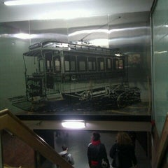 Photo taken at MBTA Hynes Convention Center Station by Whitney K. on 2/4/2012