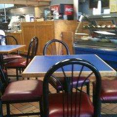 Photo taken at Papouli's Mediterranean Cafe and Market by Alex T. on 6/3/2012
