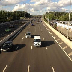 Photo taken at Trowell Southbound Motorway Services (Moto) by Robin C. on 6/24/2012