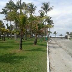 Photo taken at Praia do Sesc Bertioga by Istvan H. on 8/29/2012