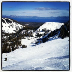Photo taken at Alpine Meadows Ski Resort by Adam B. on 3/11/2012
