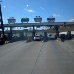 Photo taken at New Jersey Turnpike - Newark by Waddie G. on 2/25/2012