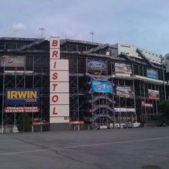 Photo taken at Bristol Motor Speedway by Shawn M. on 4/23/2012