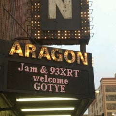 Photo taken at Aragon Ballroom by Mary on 4/4/2012