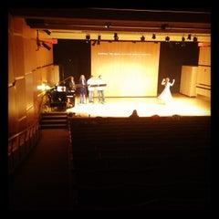 Photo taken at Bezanson Recital Hall by Sean B. on 2/14/2012