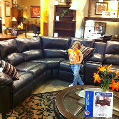 Photo taken at Ashley Furniture by Jen P. on 4/13/2012