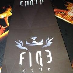Photo taken at Fire Club by Phernando E. on 5/27/2012