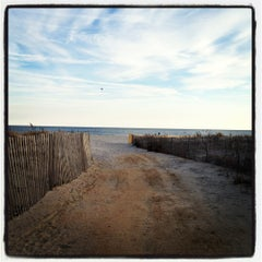 Photo taken at Ocean City Fishing Pier by Katie F. on 3/11/2012