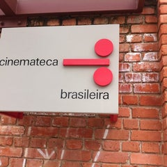 Photo taken at Cinemateca Brasileira by Brício S. on 3/16/2012