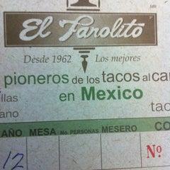 Photo taken at El Farolito by david c. on 4/22/2012