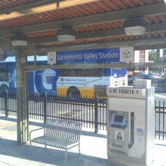 Photo taken at SACRT Light Rail Sacramento Valley Station by Brian A. on 5/24/2012